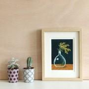 tirage-art-dame-jeanne-et-mimosa2