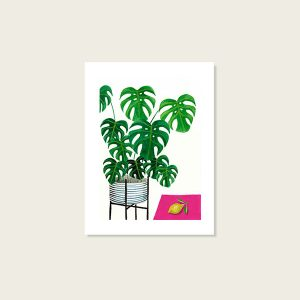 tirage-art-philodendron