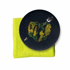 miroir-coeur-mimosa-citron