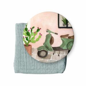 miroir-vespa-vert